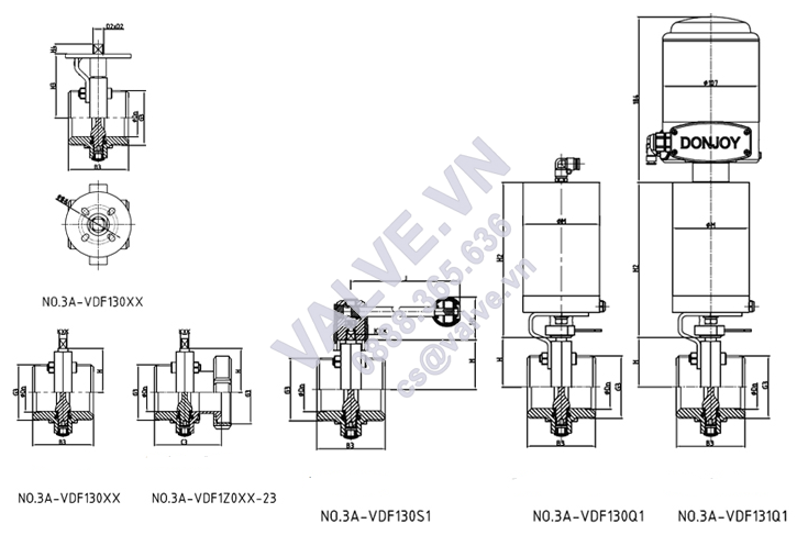 donjoy-sanitary-butterfly-valve-three-position-pulls-handle-for-pharmacy-picture-5